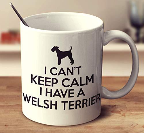 I Can't Keep Calm I Have A Welsh Terrier Coffee Mug 11oz Gift Tea Cups 11oz