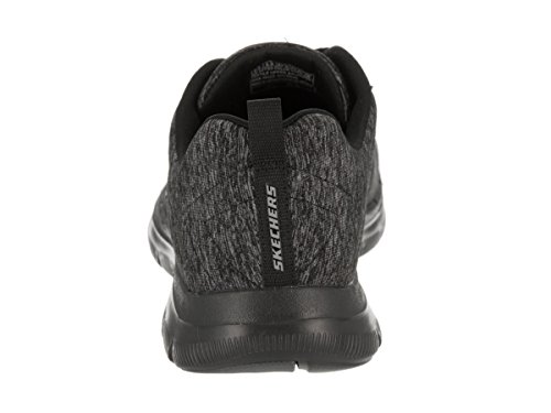 Skechers Energy 2 Basses High Flex Baskets Femme Noir Appeal 0 qBaRxHnq4