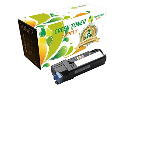 - Green Toner SupplyTM Compatible Toner Cartridge Replacement for Dell 2135 (Cyan, 1-Pack)