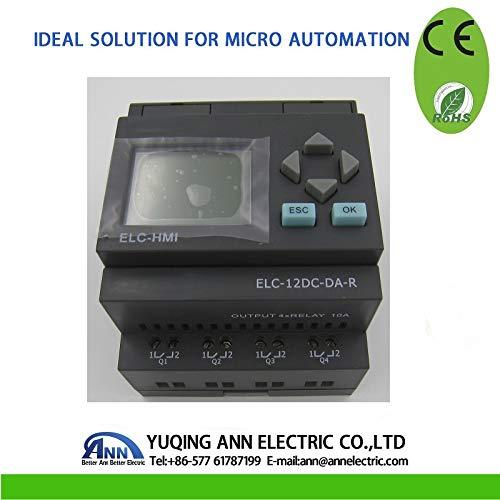 Best Price PLC ELC-12DC-DA-R-HMI with HMI,Mini PLC, Low Cost PLC, The Cable Should to Buy Separately
