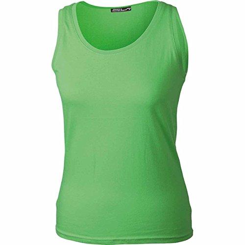 JAMES & NICHOLSON - Camiseta sin mangas - Básico - Sin mangas - para mujer vert citron
