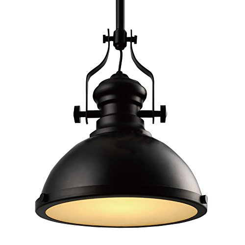 large pendant lighting. BayCheer HL371268 Industrial Country Painting Large Pendant Light - Ceiling Lighting Chandelier With 1 Black