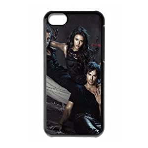 YUAHS(TM) Custom Phone Case for Iphone 5C with The Vampire Diaries YAS144212