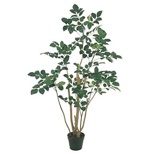人工観葉植物 ポリシャスポットM 高さ150cm fg88210 (代引き不可) インテリアグリーン 造花 B07SQD4SRK