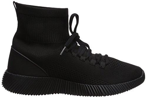 Qupid Mujeres Spyrock-10 Sneaker Black