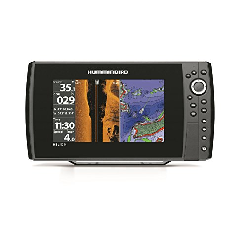 Humminbird 409950-1 Helix 9 SI 480×800 Sonar with Dual Beam GPS, 9″ For Sale