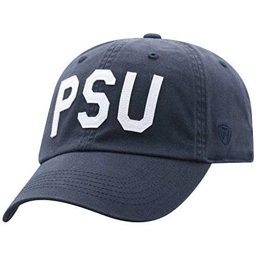 Top of the World NCAA-Cotton Crew-District-Adjustable Strapback-Hat Cap (Penn State Nittany Lions, Adjustable) (State Penn Hat)