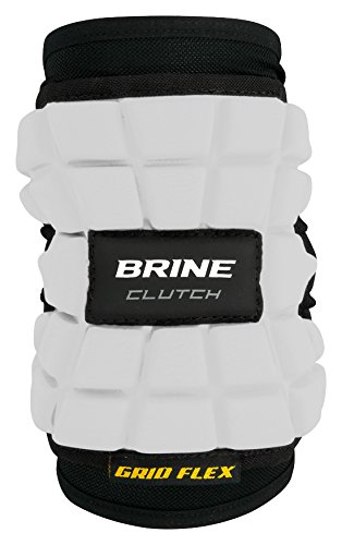 Brine Clutch Elbow Pad 2017 - Large (White) (Warrior Pads Elbow)