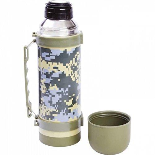 Maxam 33.8-Ounce (1L) Digital Camo Vaccuum Bottle 11-1/2