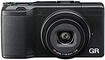 Ricoh GR II Compact System Camera (16MP, 18.3 mm Wide Lens, F2.8, WiFi) 3-Inch LCD