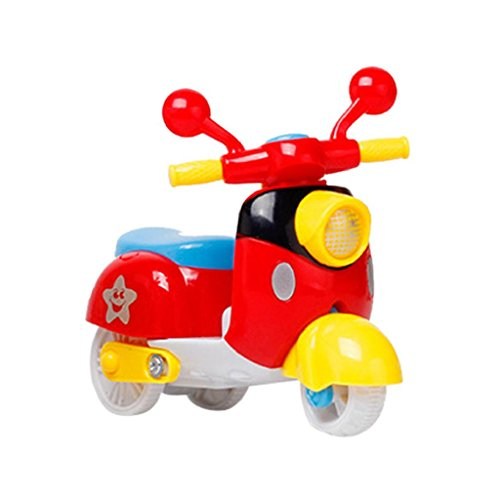 Yamally_9R Mini Motorcycle Toy Pull Back Diecast Motorcycle Model Early Education Toys
