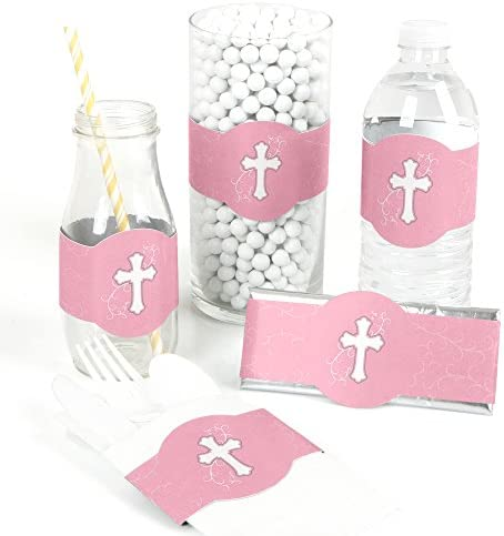 Little Miracle Girl Pink Cross