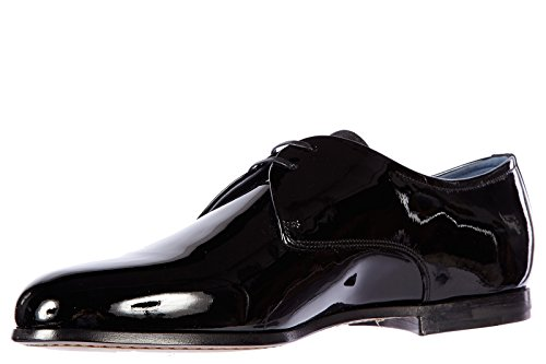 Salvatore Ferragamo chaussures à lacets classiques homme en cuir derby rogan noi