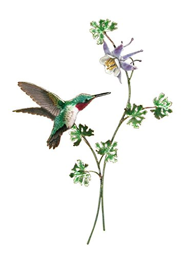 Bovano - Wall Sculpture - Hummingbird Broad-tailed w/ (Bovano Wall Sculpture)