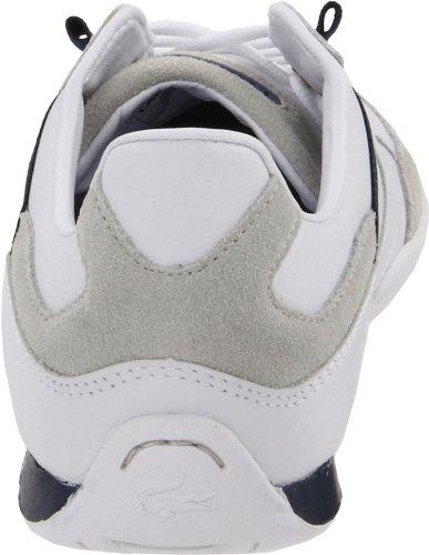 Lacoste Mens Telesio Sneaker Alta Moda Bianco / Blu Scuro