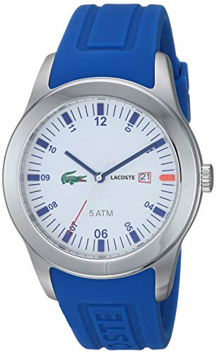 Lacoste Advantage Blue Silicone Mens Watch 2010630