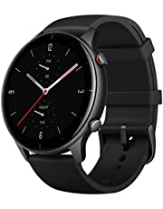 Amazfit GTR 2E Smartwatch With 24H Heart Rate, Sleep, Stress And Spo2 Monitor, Activity Tracker With 90 Sports Modes, 24 Day Battery Life - Obsidian Black