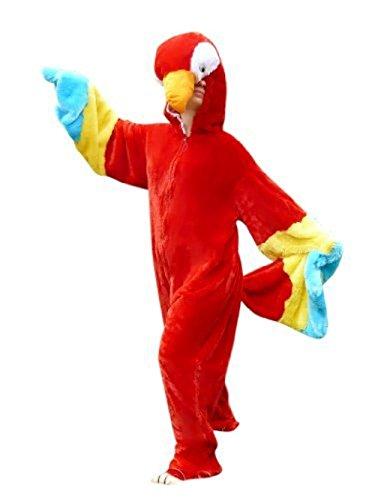 Bird Dance Costumes Ideas (Fantasy World Parrot Costume Halloween f. Men and Women, Size: M/ 08-10, F32)