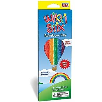 Wikki Stix Rainbow Pak Molding & Sculpting Sticks