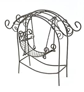 Touch of Nature Garden Arch with Swing, Mini, Rustic Color: Rustic Outdoor, Home, Garden, Supply, Maintenance