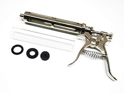 Zikimed 50 Ml Revolver Syringe,Glass Barrel,Luer Lock (Animal Only)