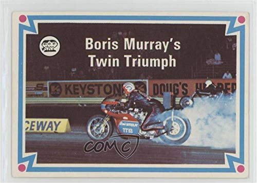 Boris Murray's Twin Triumph (Trading Card) 1972 Scanlens Choppers and Hot Bikes - [Base] #32