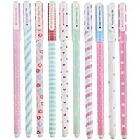 Cute Kawaii Gel Pen (Set of 10 Pieces of different colors)