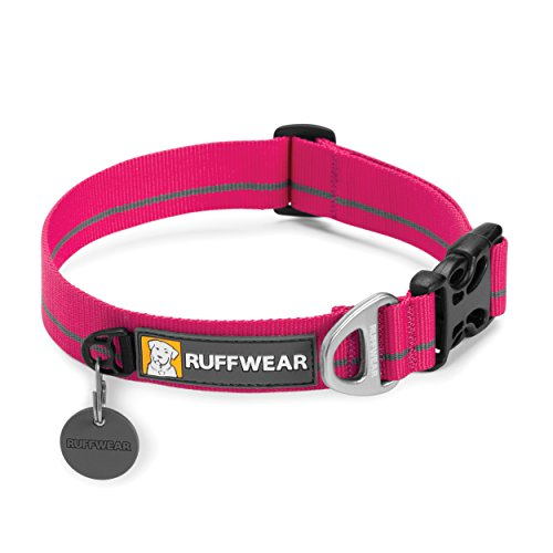 Ruffwear - Hoopie Soft, Durable Dog Collar, Wild Berry, Medium