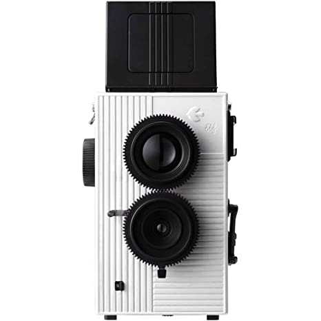 Camara Blackbird Fly 35mm TLR Doble Lente Reflex- Negra con ...