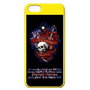 Creative Skull Sherlock Iphone 5C New Style Cover Case