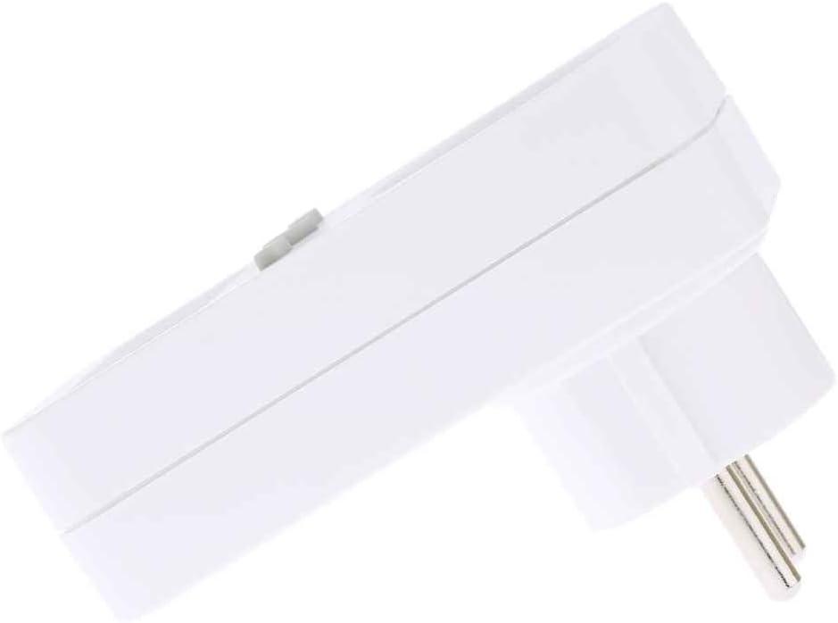 GFCGFGDRG Plug-in vat/ímetro Digital LCD de Pantalla del medidor de Potencia del medidor de Potencia Toma de Corriente de Uso medidor de Consumo el/éctrico del z/ócalo