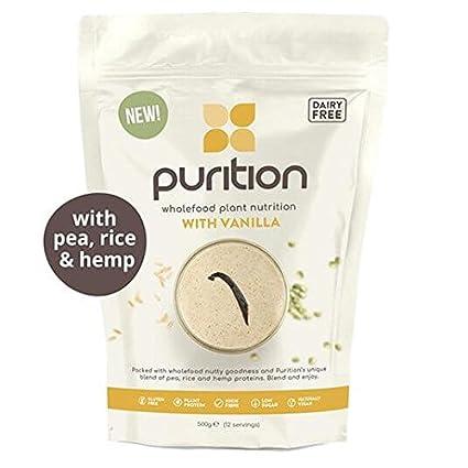 Batido de proteínas veganos (500g). Ideal para perder peso & recuperación post-
