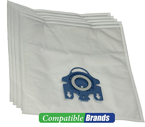 ComptibleBags Miele GN Compatible Canister Vacuum Bags with 2 Filters (Pack of 5 Bags) (Gn Miele Vacuum Bags compare prices)