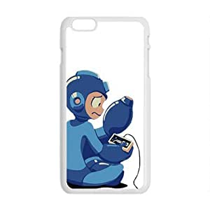 Blue Rockman Cell Phone Case for Iphone 6 Plus