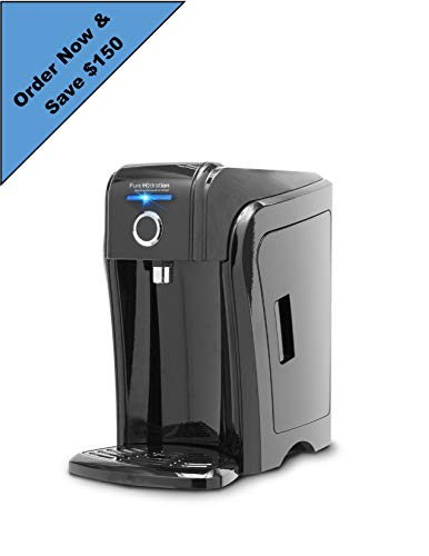 Pure Hydration Alkaline Antioxidant Water Ionizer Now with improved #2 cartridge, and an additional #3 cartridge include in the box (The fastest growing water ionizer, over 120,000 sold worldwide)