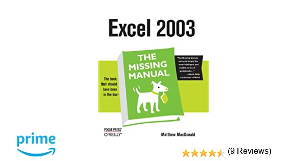 Amazon.com: Excel the Missing Manual (0636920006640): Matthew ...