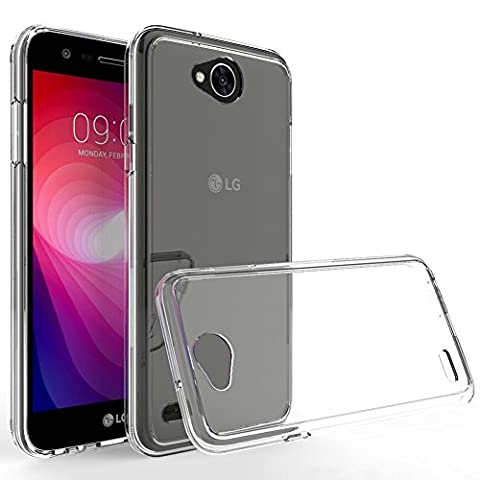 LG X Charge Case,LG Fiesta LTE Case,LG X Power 2 Case,Yiakeng Dual Layer shockproof wallet Armor Soft glitter silicone Crystal Phone cases full cover for LG X Charge (TPU (Phone Case Charges)