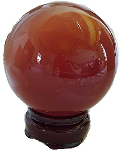 Party Games Accessories Halloween Séance Crystal Balls Divination Tool See The Future 75mm Red Cats Eye