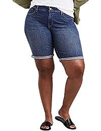 Women's Plus Size Shaping Bermuda Shorts