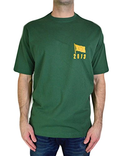 Masters Men's T Shirt Augusta Collection Tournament Official Logo 2013 Tee, Green, Size Medium (The Masters Golf Tshirt compare prices)