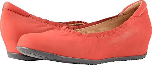 US Softwalk Nubuck 11 Wish M Red Flat Black Women's qqFYzB