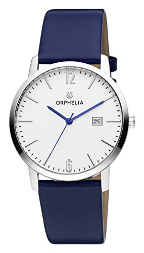 ORPHELIA Slimline Women's Blue Leather watch-OR51700-1