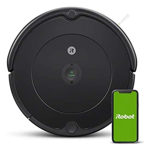 chollos oferta descuentos barato iRobot Robot aspirador Roomba 692 Wifi para alfombras y suelos Dirt Detect Sistema de limpieza en 3 fases Smart Home y control App Sugerencias personalizadas Compatible con asistentes voz