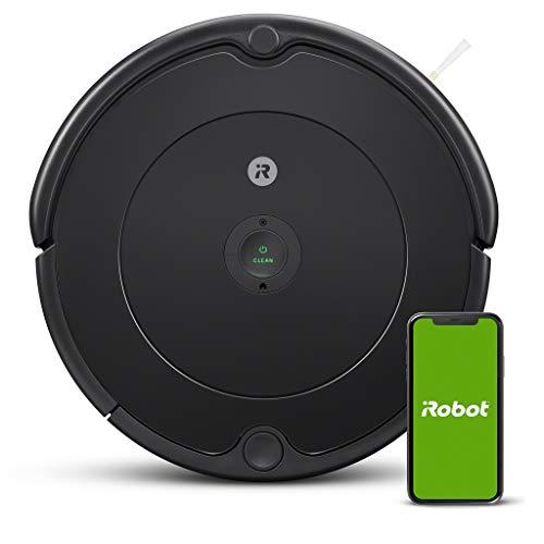 iRobot – Robot aspirador Roomba 692 Wifi, para alfombras y suelos, Dirt Detect, Sistema de limpieza en 3 fases, Smart…