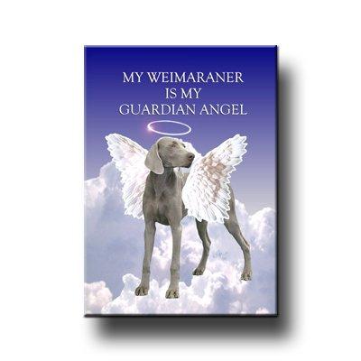 (Weimaraner Guardian Angel Fridge Magnet)