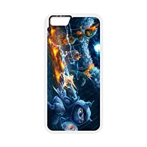 iphone6 plus 5.5 inch White League Of Legends phone cases&Holiday Gift