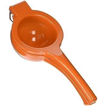 IMUSA USA VICTORIA-70009  Orange and Citrus Squeezer, Orange