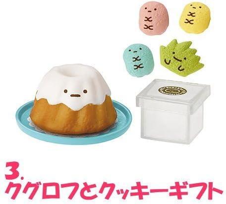 RE-MENT MINIATURES SUMIKKO Gurashi Bakery Bread and Cake Set No.02