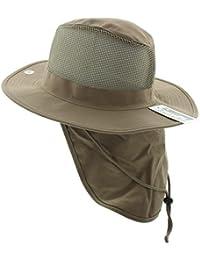 8081baff1ee JFH Wide Brim Bora Booney Outdoor Safari Summer Hat w Neck Flap   Sun  Protection