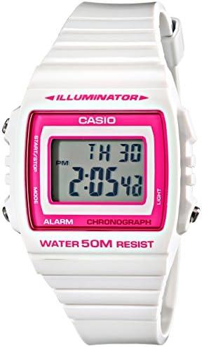 Casio Kids W-215H-7A2VCF Classic Digital Quartz White Watch